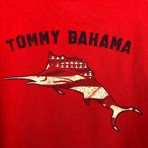 Tommy Bahama Red Sailfish Tee L